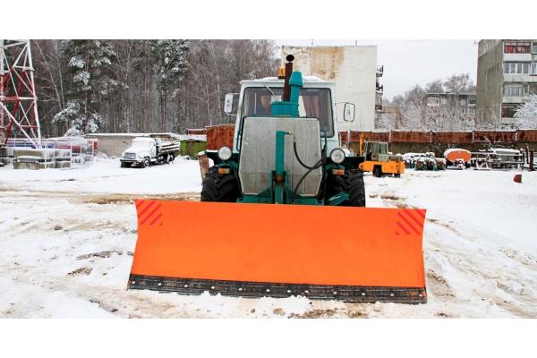 Ротор для уборки снега на т 25